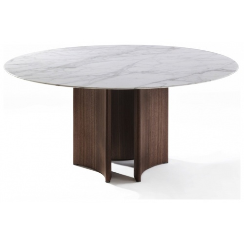 Alan 3 Round Dining Table – Marble Top 3