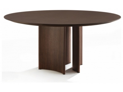 Alan 3 Round Dining Table – Wood Top
