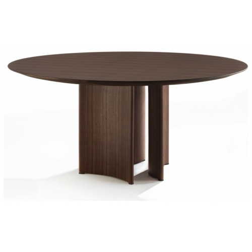 Alan 3 Round Dining Table – Wood Top 3
