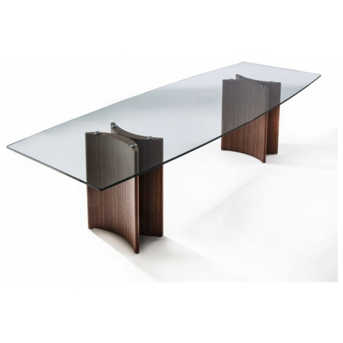 Alan Botte 4 Dining Table – Glass Top 5