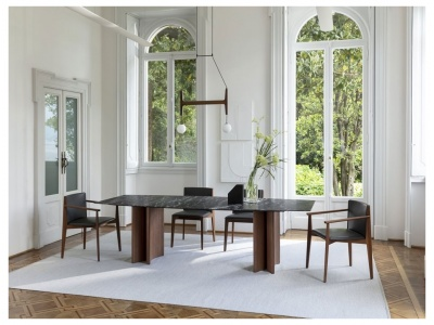 Alan Botte 4 Dining Table – Marble Top