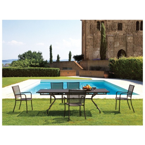 Athena Outdoor Extendable Dining Table 6