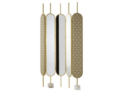 Chloé Mirrored Room Divider 3