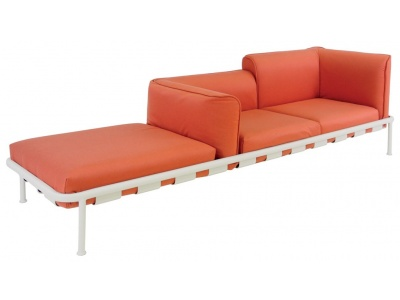 Dock Outdoor Sofa with Chaise