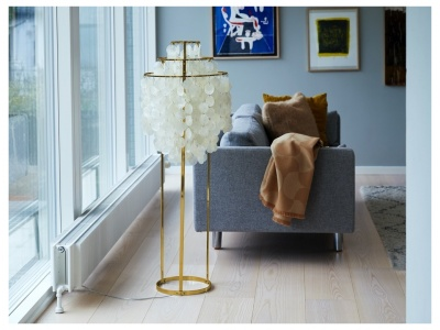 Fun 1STM Brass Floor Lamp