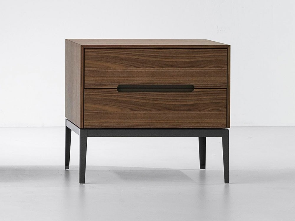 Gala Two-Drawer Bedside Table