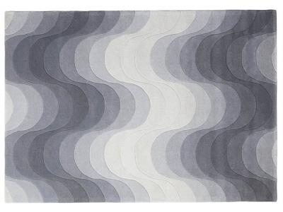Grey Wave Rug 3