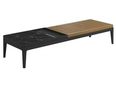 Grid Outdoor Coffee Table