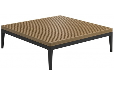 Grid Outdoor Square Coffee Table
