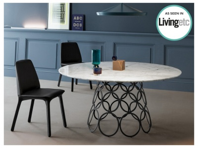 Hulahoop Round Dining Table