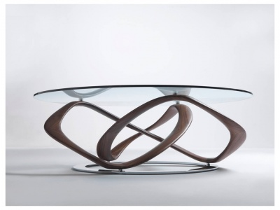 Infinity Round Coffee Table