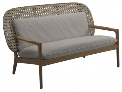 Kay Outdoor Low Back Sofa