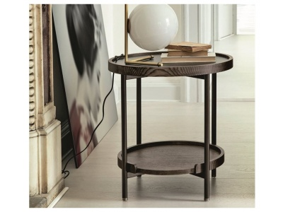Koster Wood Side Table