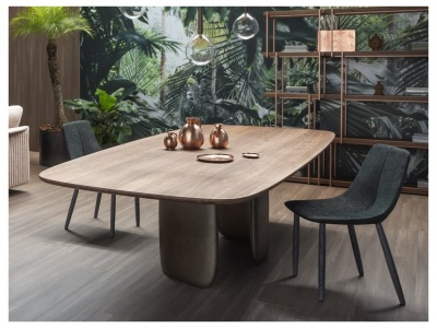 Mellow Dining Table – Wood Top