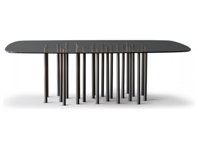 Mille Dining Table – Round Edges