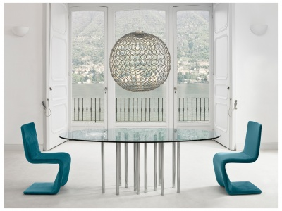 Mille Oval Dining Table