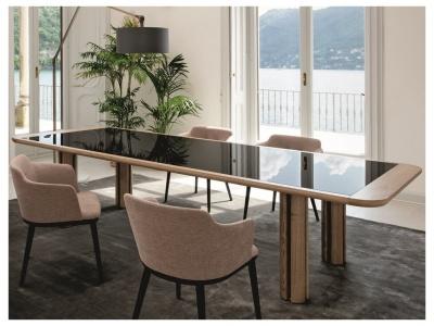 Quadrifoglio Dining Table – Glass