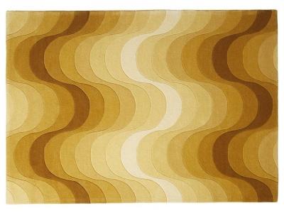 Yellow Wave Rug