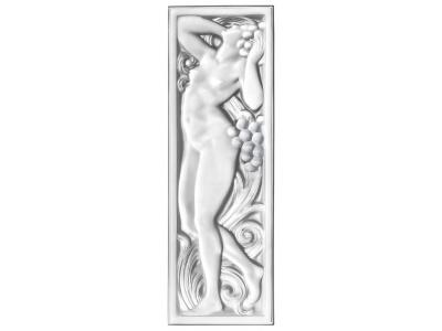 Femme Tête Levée decorative panel
