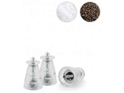 Feuilles pepper & salt grinders