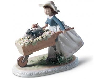 A Barrow of Fun Girl Figurine