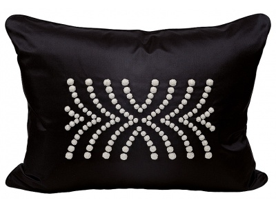 Demi Coutard beaded large cushion