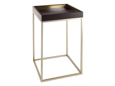 Alyn Side Table in Chocolate
