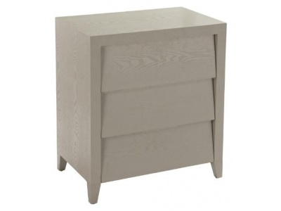 Amato chest of drawers in ceramic grey finish