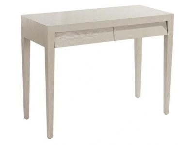 Amato dressing table in ceramic grey finish