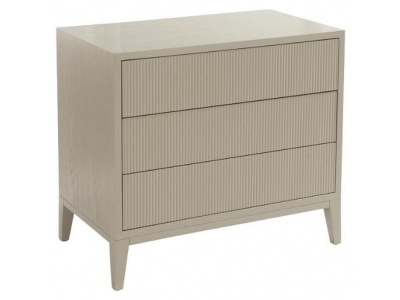 Amur, chest of drawers in ceramic grey finish