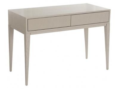 Amur dressing table in ceramic grey finish