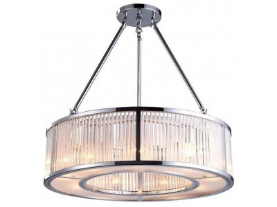 Aston Cylinder Nickel Ceiling Light