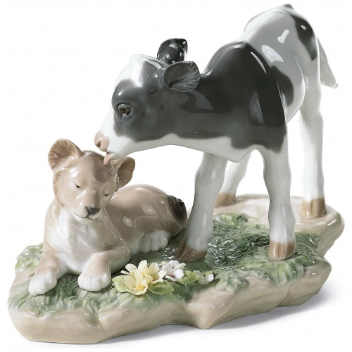 …AND THE CALF AND THE YOUNG LION… 3