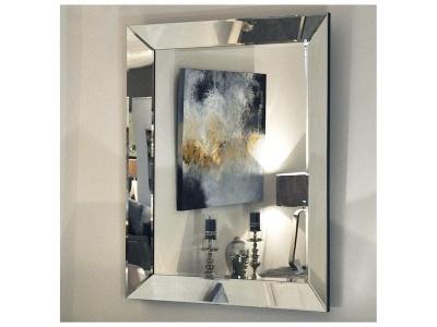 Bevelled Glass Frame Rectangle Mirror