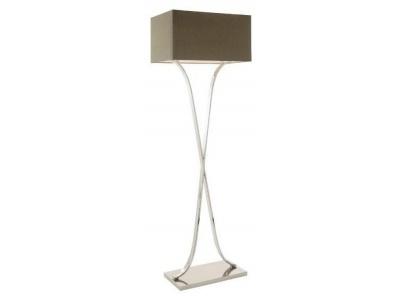 Byton Nickel Floor Lamp