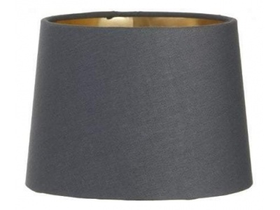 Charcoal Shade with Gold Lining 15 cm
