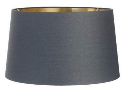 Charcoal Shade with Gold Lining 48cm