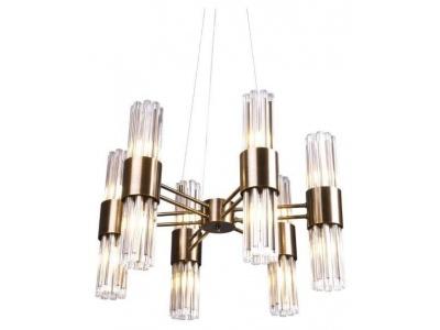 Colmar, 6 arm chandelier