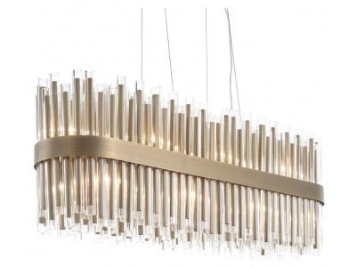 Colmar long chandelier