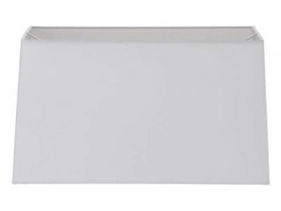 Cream Tapered Rectangular Shade 45cm