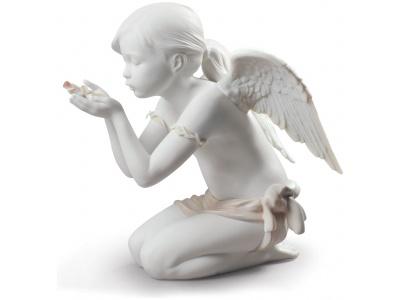 A Fantasy Breath Angel Figurine