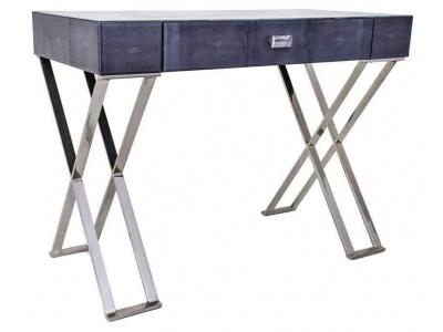 Dark Grey Sienna Shagreen Dressing Table